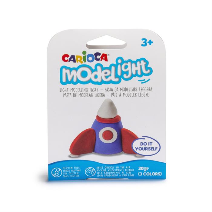 Carioca Modelight Proje Oyun Hamuru - Roket