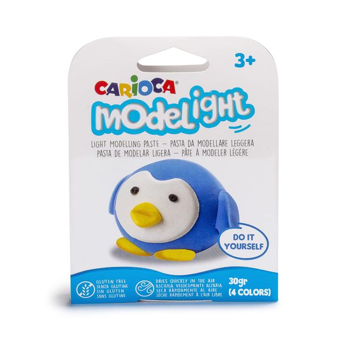 Carioca Modelight Proje Oyun Hamuru - Penguen