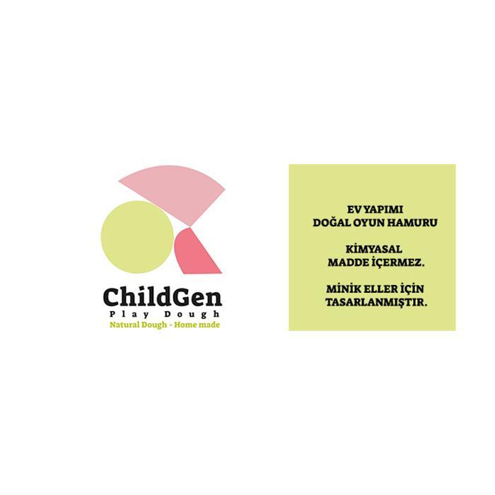 ChildGen Pastel Oyun Hamuru Seti (5x125gr)
