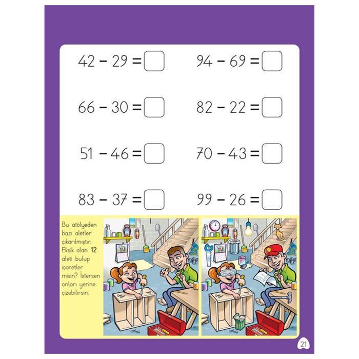 Zihinden Eğlenceli-Öğretici Çıkarma Etkinlikleri - 2.Sınıf