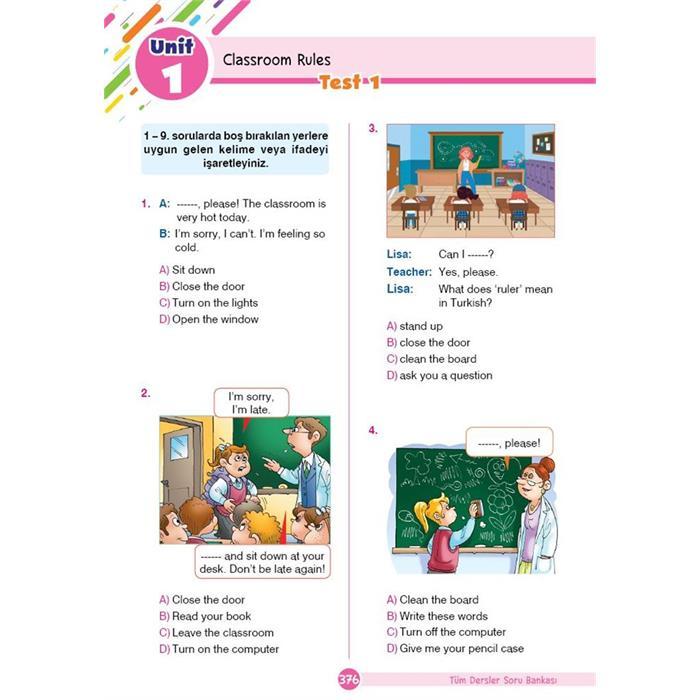 Tüm Dersler Yeni Nesil Soru Bankası - 4.Sınıf