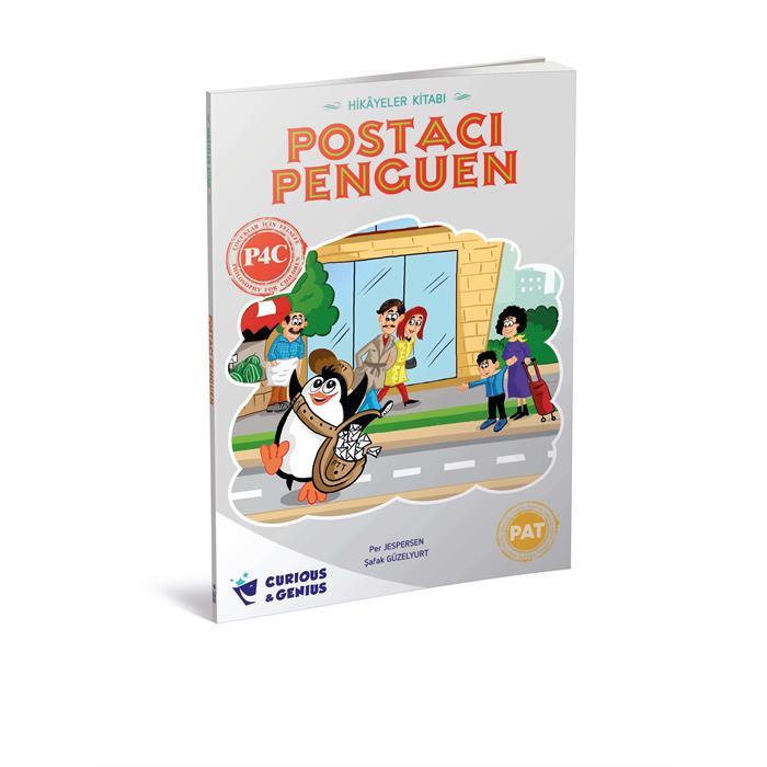 2.Sınıf - Çocuklar için Felsefe Serisi - Postacı Penguen