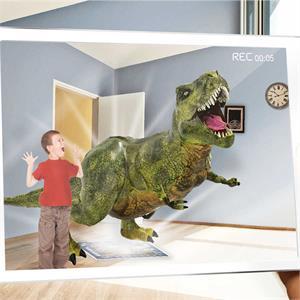 Imagine Station AR Floor Puzzles Dinocodes