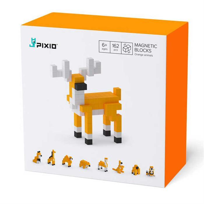 PIXIO Orange Animals