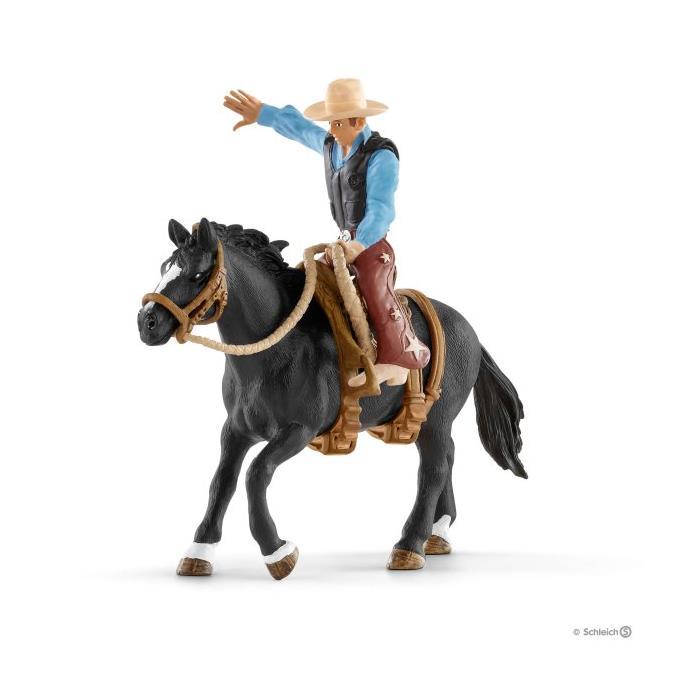 Schleich 41416 Yabani At ve Kovboy