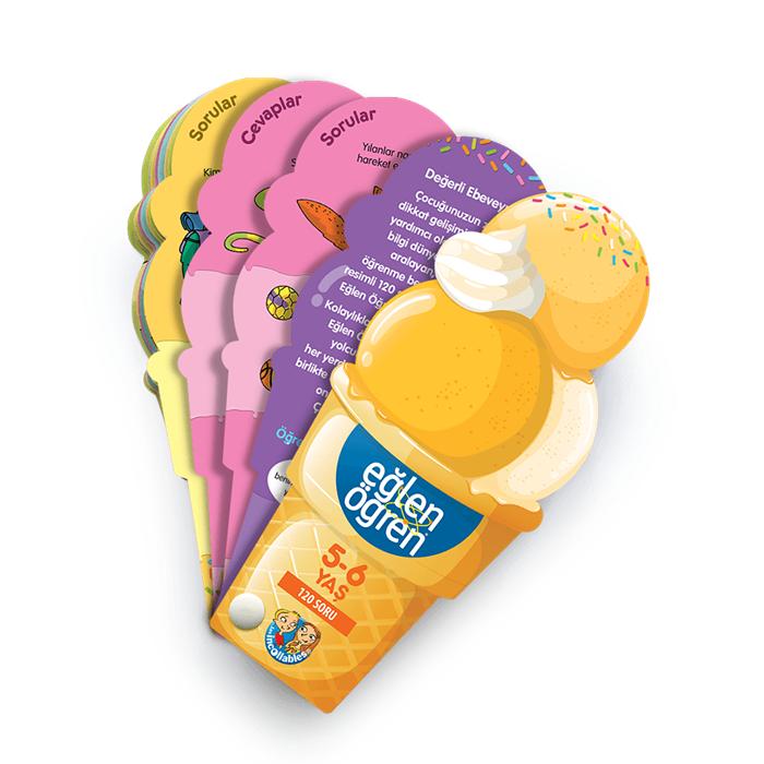 Eğlen Öğren Ice Cream 5-6 Yaş