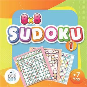 8x8 Çıkartmalı Sudoku - 1