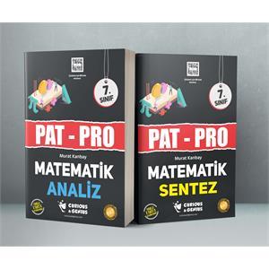 7.Sınıf PAT-PRO Matematik Seti (Analiz – Sentez)