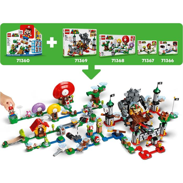 Lego 71363 Super Mario Desert Pokey Expansion Set