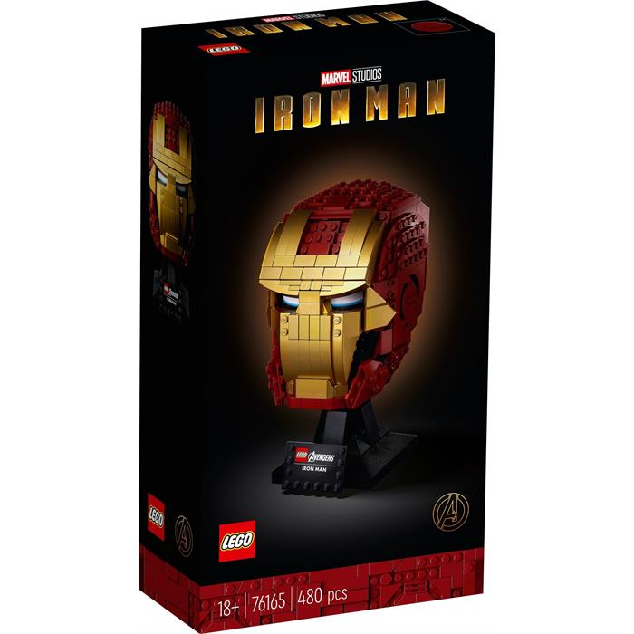 Lego 76165 Marvel Avengers Iron Man Helmet V29
