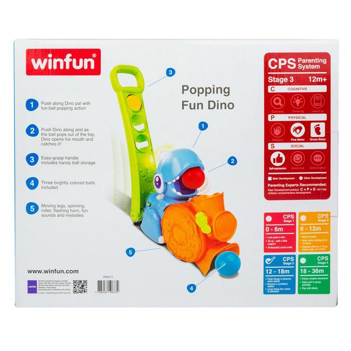 WinFun Top Fırlatan Arkadaşım Dino