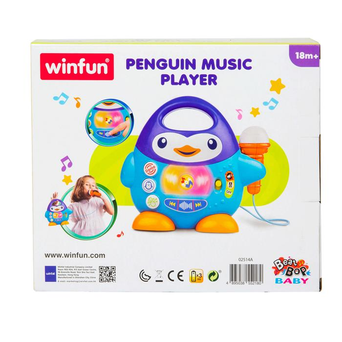 WinFun Penguen Müzik Çalar