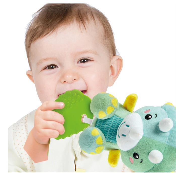 Clementoni Baby Yumuşak Dinozor Çıngırak