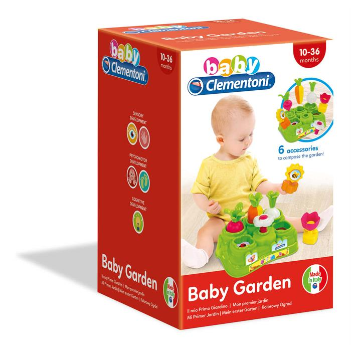 Clementoni Baby Renkli Bahçe