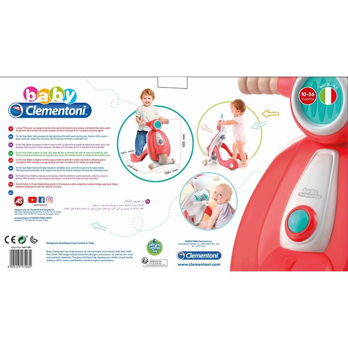 Clementoni Baby İlk Adım Yürüteci