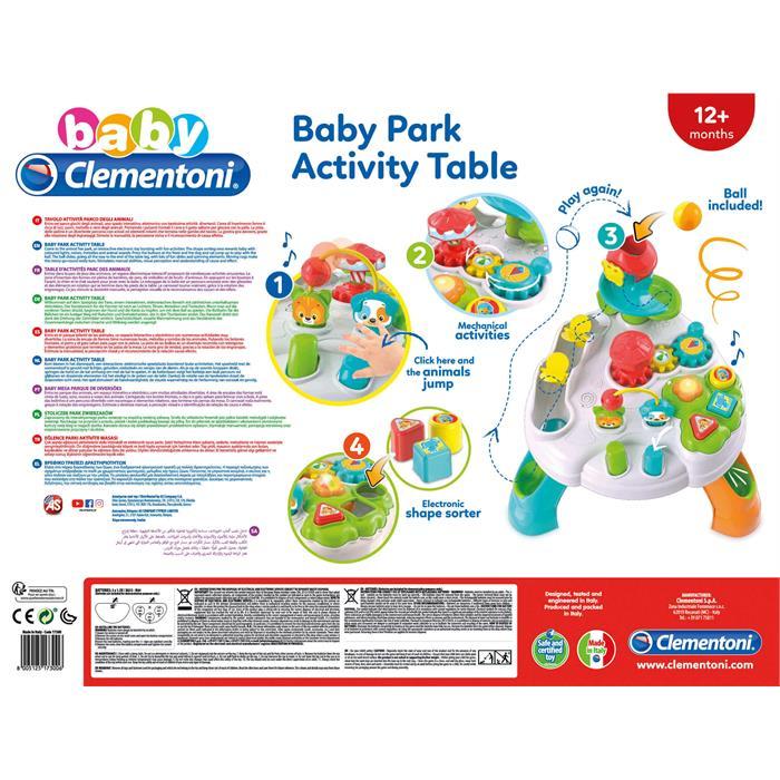 Clementoni Baby Bebek Parkı Aktivite Masası