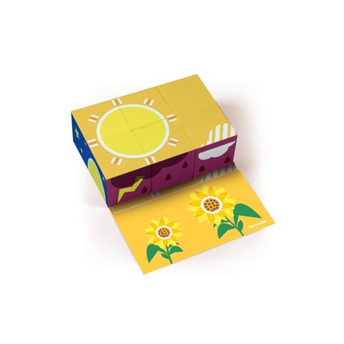 Clementoni Little Cubes - Meteoroloji