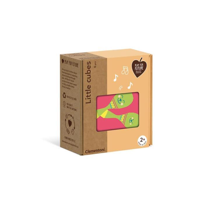 Clementoni Little Cubes - Eşyalar