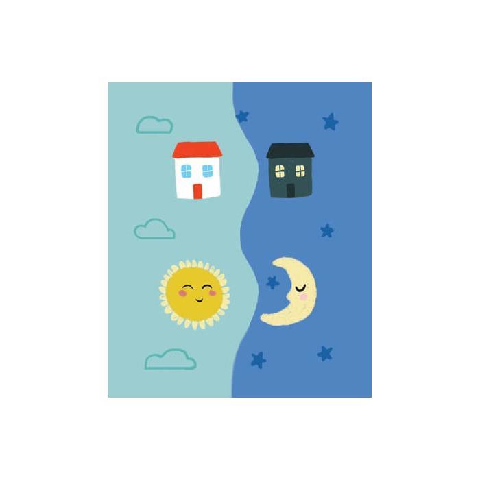 Clementoni Little Match Puzzle - Gece ve Gündüz