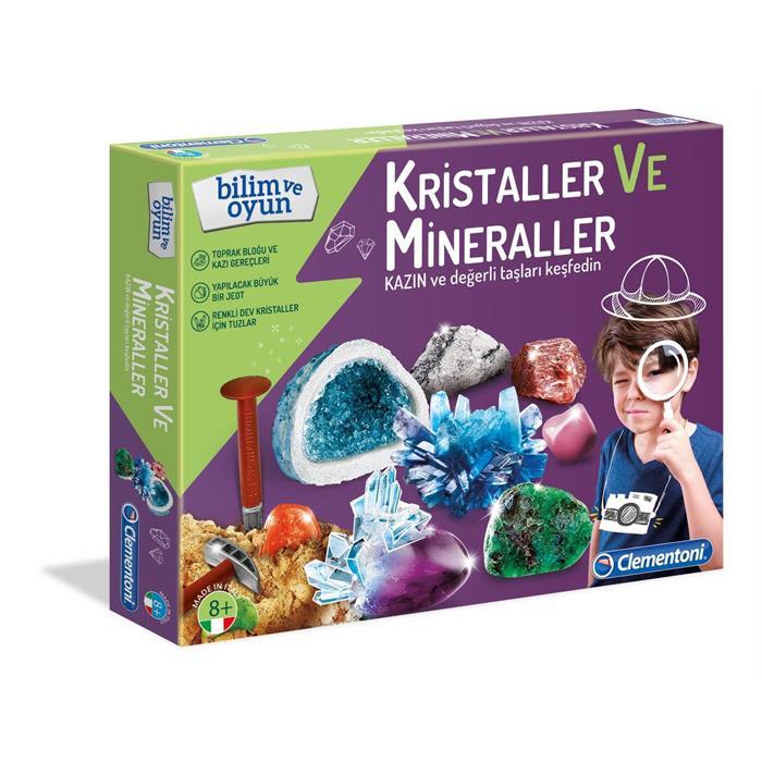 Clementoni Bilim ve Oyun - Kristaller ve Mineraller