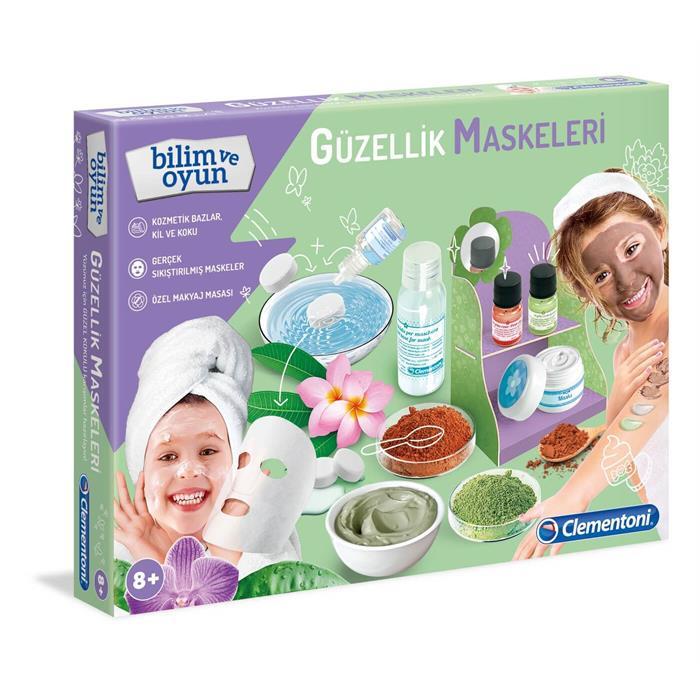 Clementoni Bilim ve Oyun - Güzellik Maskeleri