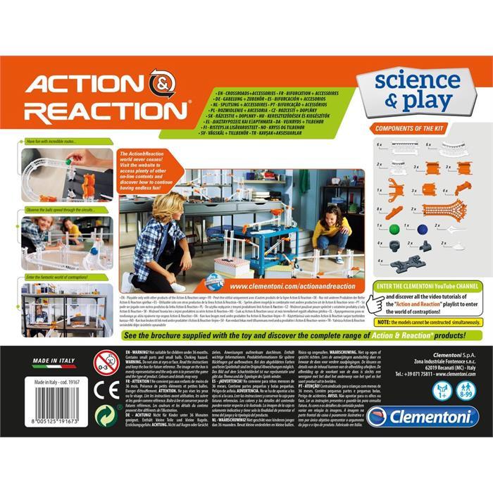 Clementoni Action and Reaction - Kavşaklar ve Aksesuarlar