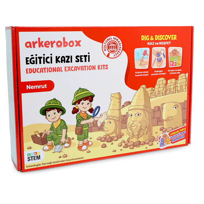 Arkerobox Arkeoloji Seti - Nemrut