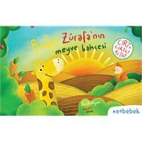 Bodur Zürafa'nın Meyve Bahçesi (Cırt Cırtlı Hikaye Kitabı)