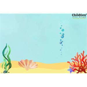 ChildGen Kumaş Oyun Matı - Denizaltı