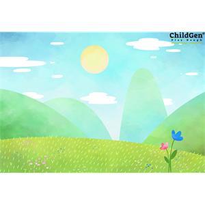 ChildGen Kumaş Oyun Matı - Çimen
