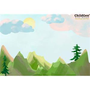 ChildGen Kumaş Oyun Matı - Dağ