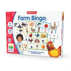The Learning Journey Farm Bingo - Resimli Çiftlik Tombalası