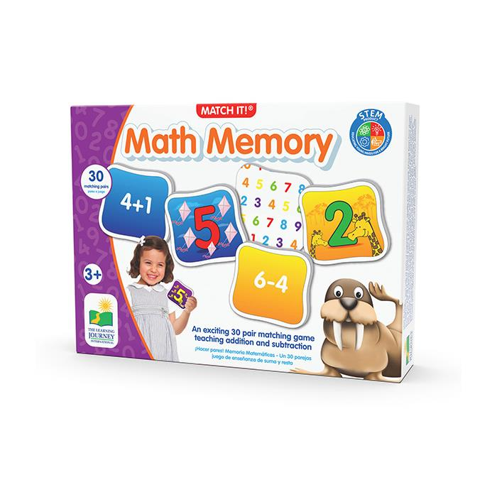 The Learning Journey Dört İşlem Hafıza Oyunu