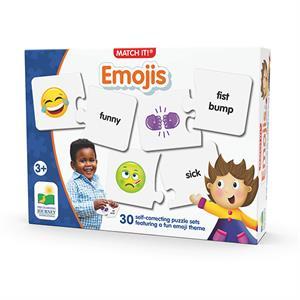 The Learning Journey Eşleştirme - Emojiler