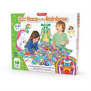 The Learning Journey Race To The Rainbow - Renkler ve Şekillerle Yarış