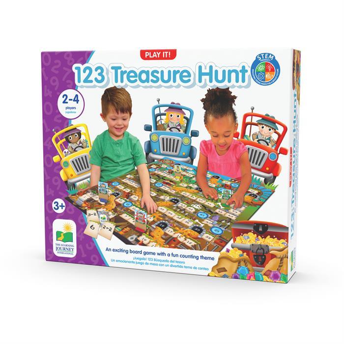 The Learning Journey 123 Treasure Hunt - Toplama Çıkarma Yarışı