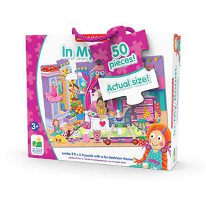 The Learning Journey Jumbo Yer Puzzle 50 Parça - Kızımın Odası