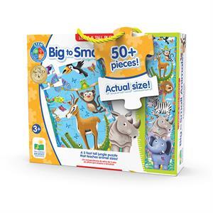 The Learning Journey Uzun Puzzle 51 Parça 150cm - Büyükten Küçüğe Hayvanlar