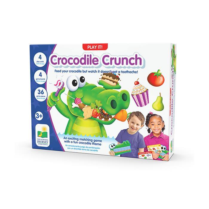The Learning Journey Crocodile Crunch - Timsahı Doyuralım