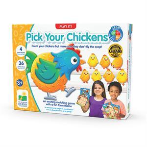 The Learning Journey Pick Your Chickens – Tavuklar Kümeste