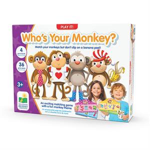The Learning Journey Who's Your Monkey - Dolabımdaki Maymun