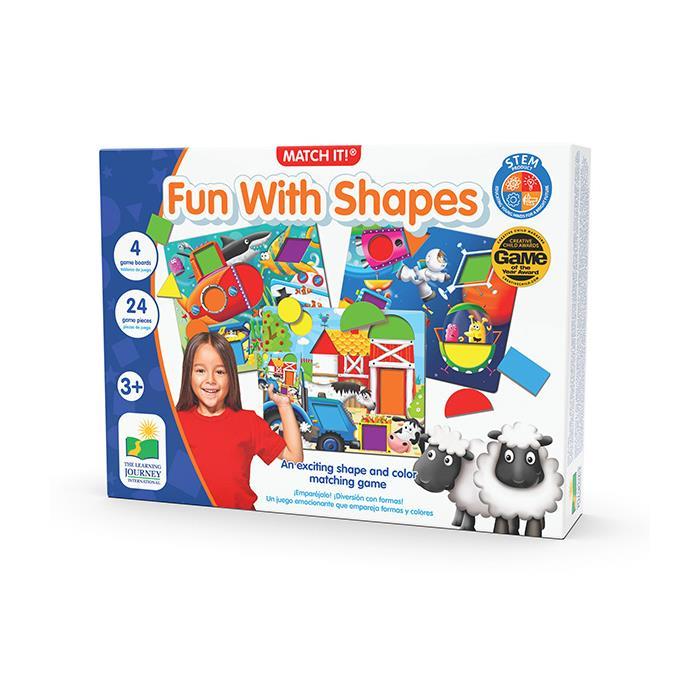 The Learning Journey Fun With Shapes - Şekillerle Eğleniyorum