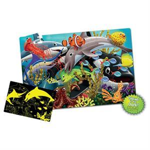 The Learning Journey Fosforlu Yer Puzzle 100 Parça - Okyanus