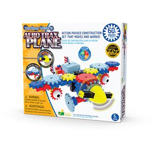 The Learning Journey Trax Plane (60 Parça)