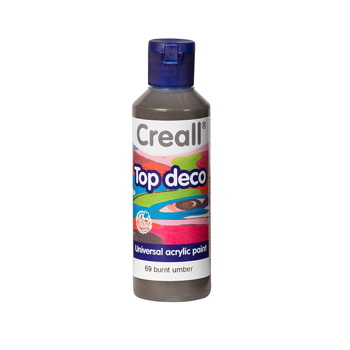 Creall Top Deco - Yanık Kahverengi