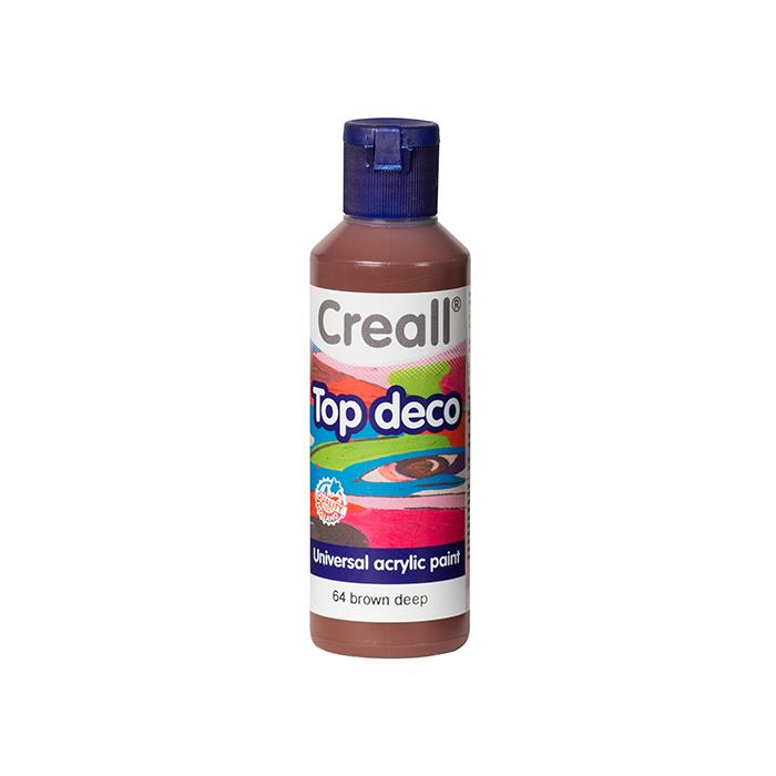 Creall Top Deco - Derin Kahverengi