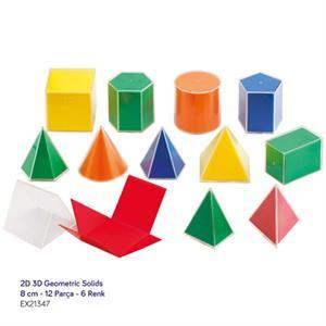 EDX 2D 3D Geometric Solids