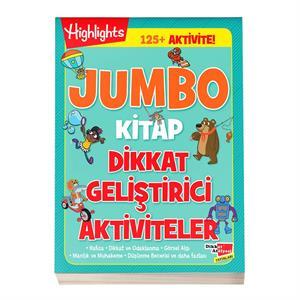 Jumbo Kitap Dikkat Geliştirici Aktiviteler