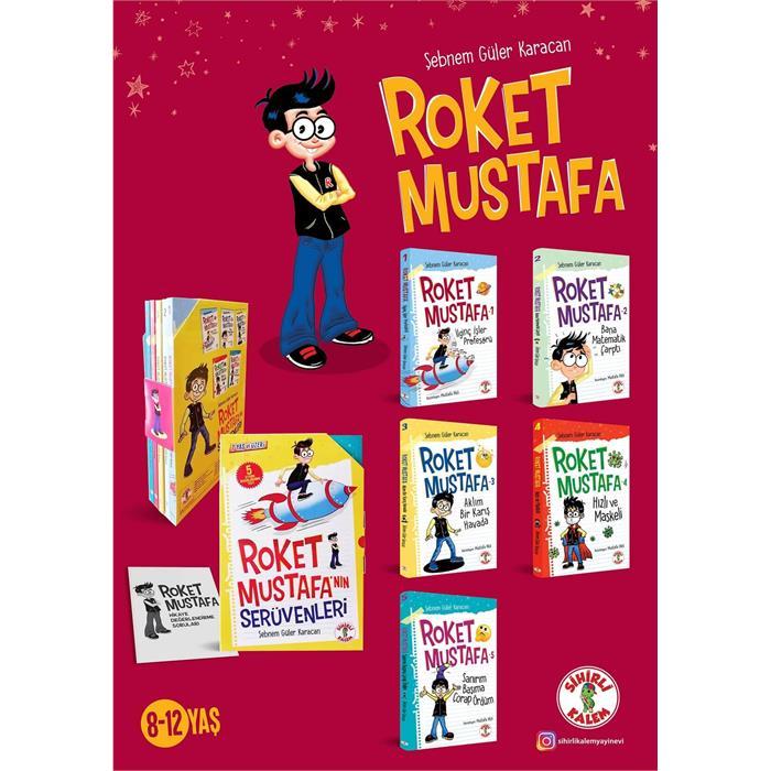 Roket Mustafa'nın Serüvenleri (5 Kitap+Değerlendirme Testi)