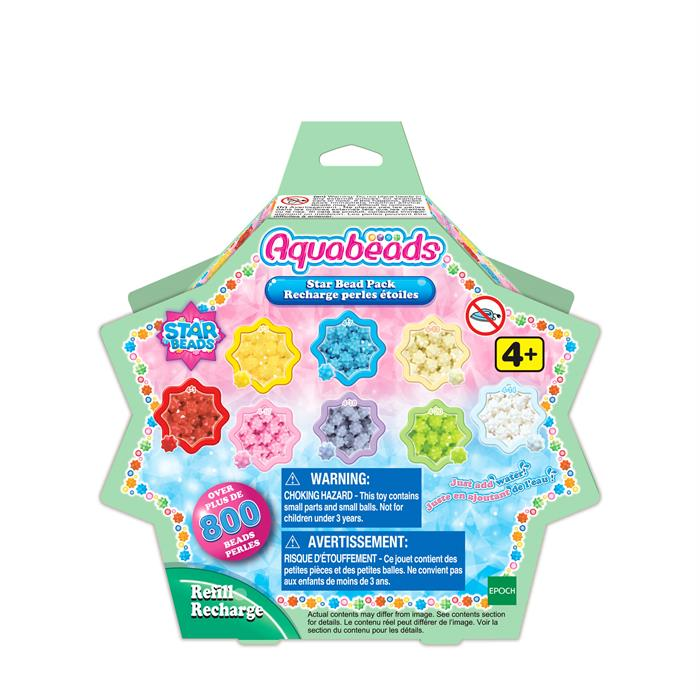 Aqua Beads Star Bead Yedek Boncuk Seti